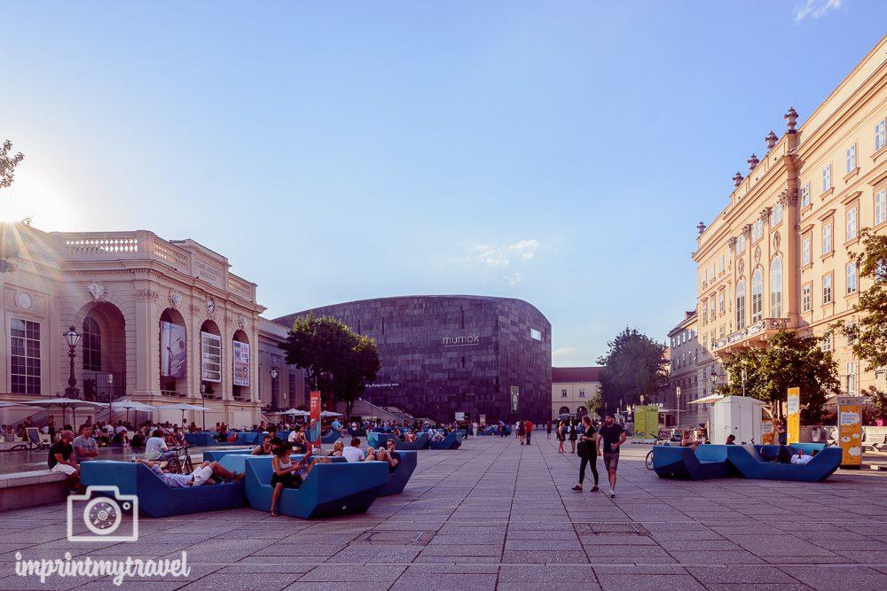 Wiener Sehenswürdigkeiten: Museumsquartier