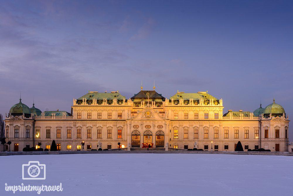Wiener Sehenswürdigkeiten: Schloss Belvedere