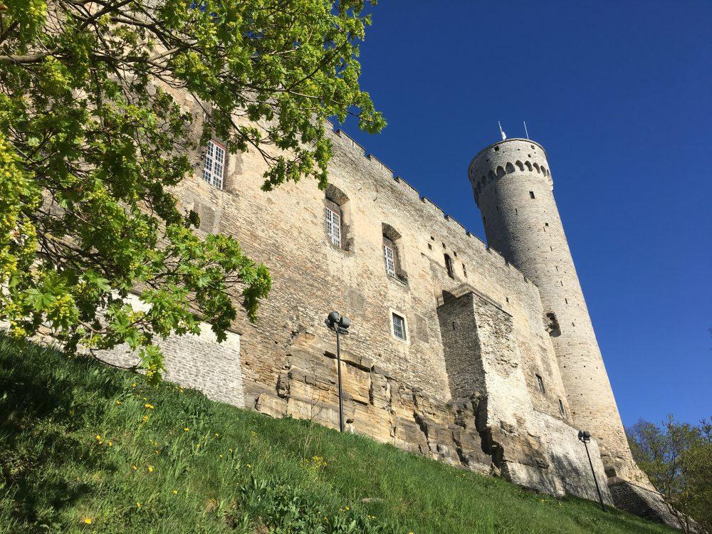 Ein Teil der Burg Tallinn