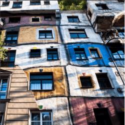 Wiener Sehenswürdigkeiten: Hundertwasserhaus