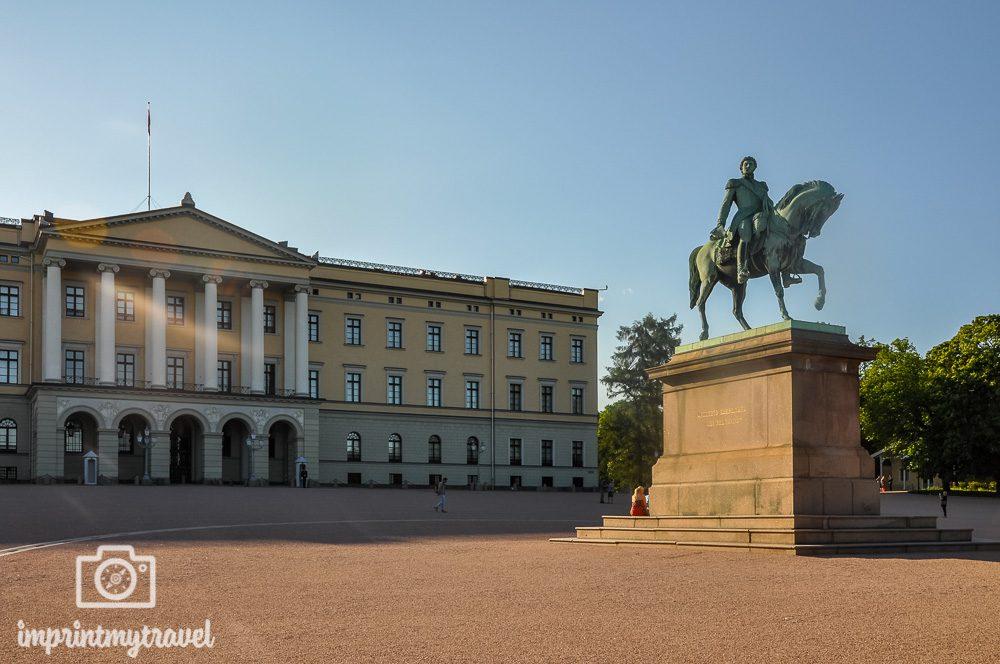 Oslo Sehenswürdigkeiten königliches Schloss