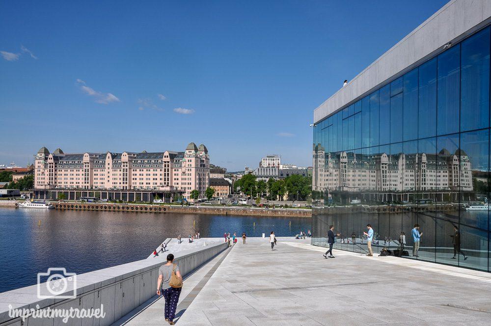 Städtereise Oslo Sehenswürdigkeiten Opernhaus