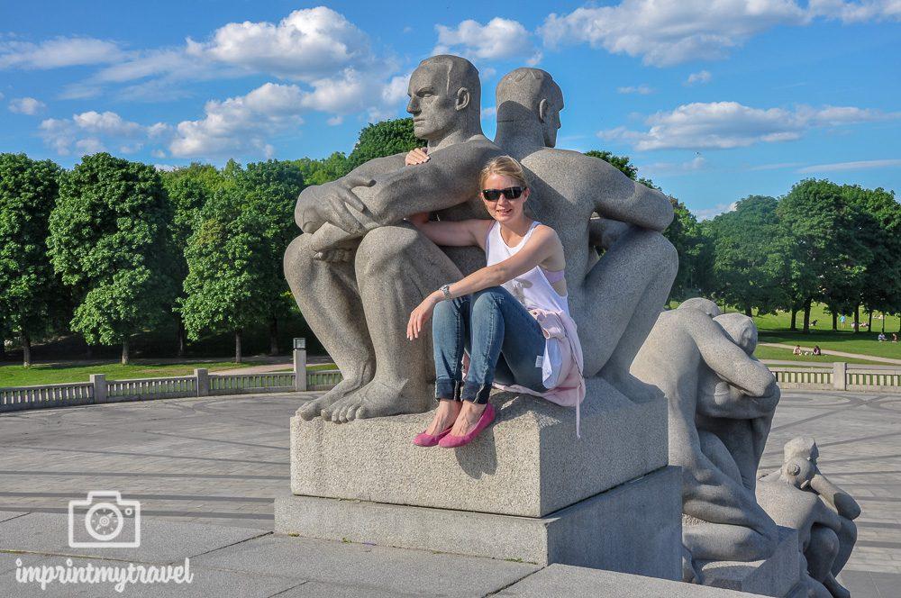 Oslo Sehenswürdigkeiten Vigeland Park