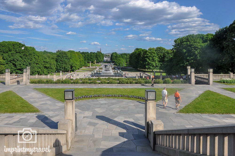 Städtereise Oslo Sehenswürdigkeiten Vigeland Park