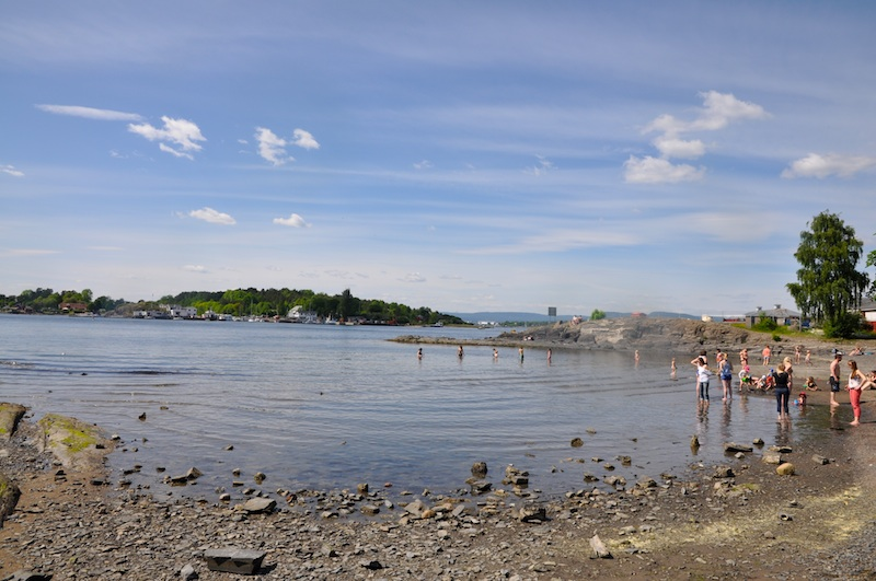 Hovedøya_Strand