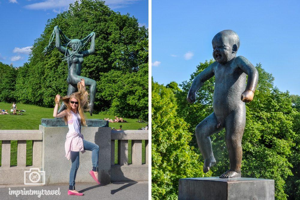 Staedtereise Oslo Sehenswürdigkeiten Vigeland Park
