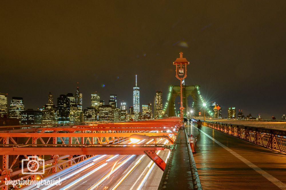 Die besten Fotolocations in New York City Brooklyn Bridge