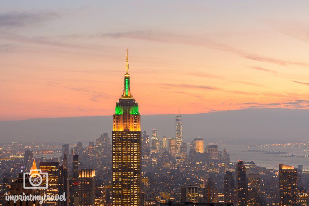 Die besten Fotolocations in New York City Nachtaufnahmen Sonnenuntergang
