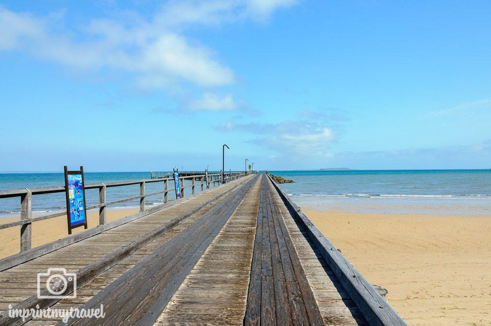 Australien Fraser Island Pier