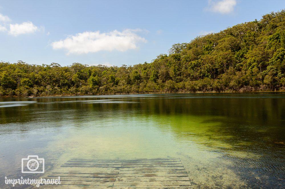 Australien, Fraser Island, Basin Lake