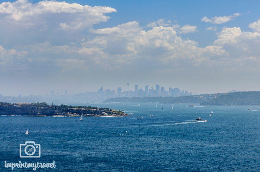 Highlights in Sydney: Aussicht vom Harbour National Park