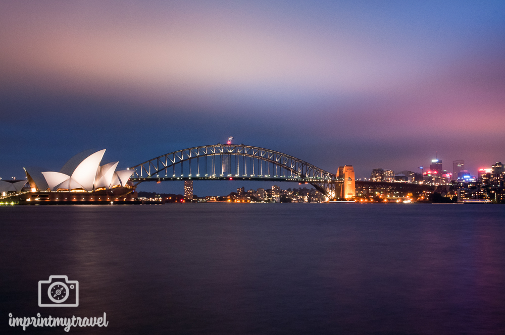 Highlights in Sydney: Sydney Oper & Harbour Bridge