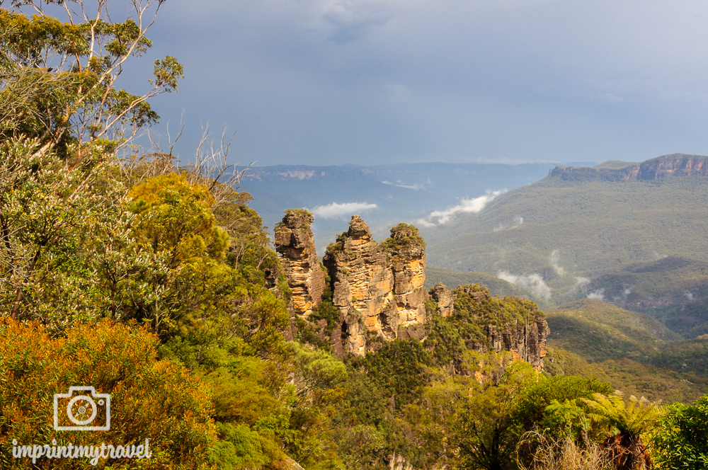 Wandern in den Blue Mountains Three Sisters
