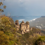 Wandern im Blue Mountains Nationalpark, Australien