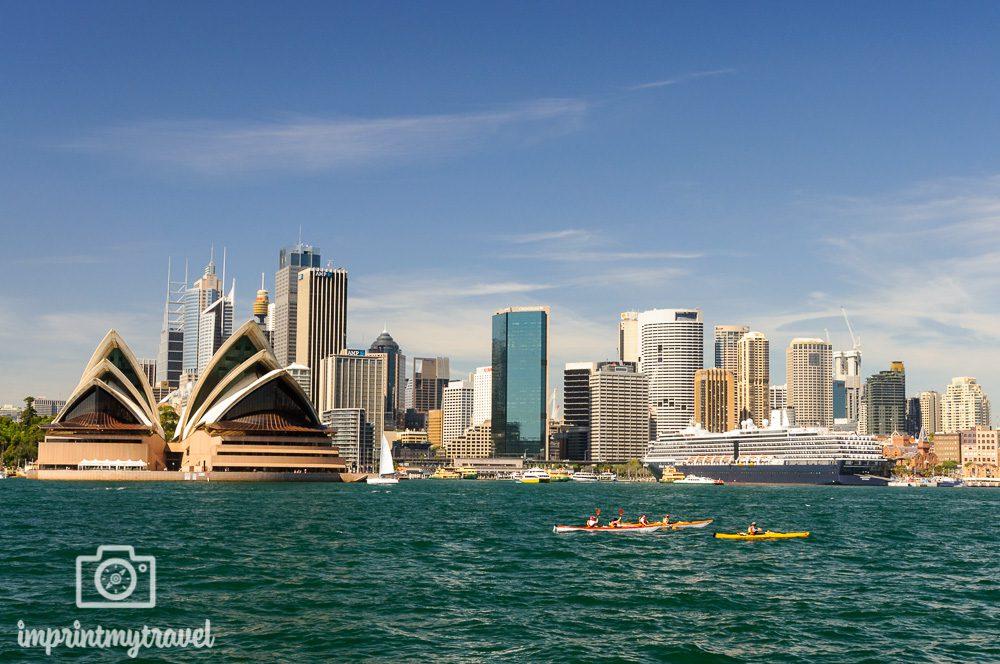 Sydney Sehenswürdigkeiten Ausblick Fähre