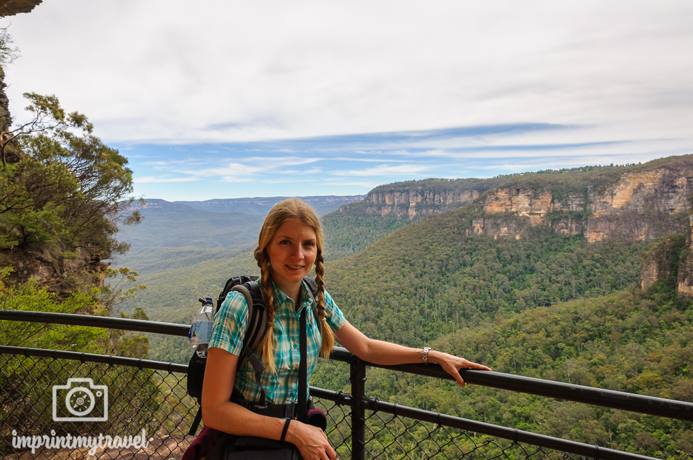 Australien, Blue Mountains Nationalpark, National Pass
