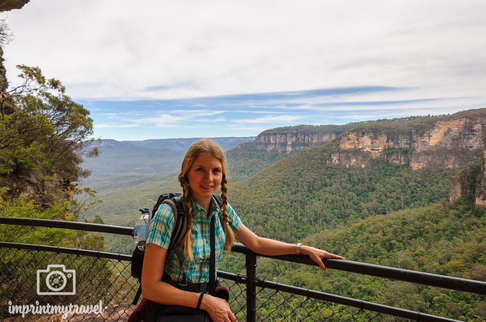 Australien, Blue Mountains Nationalpark, National Pass