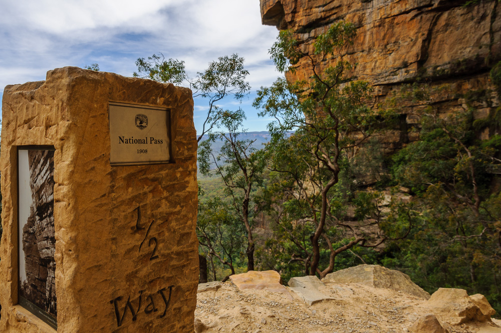 Wandern Blue Mountains National Pass