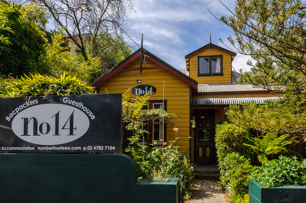 Wandern in den Blue Mountains Hostel No. 14