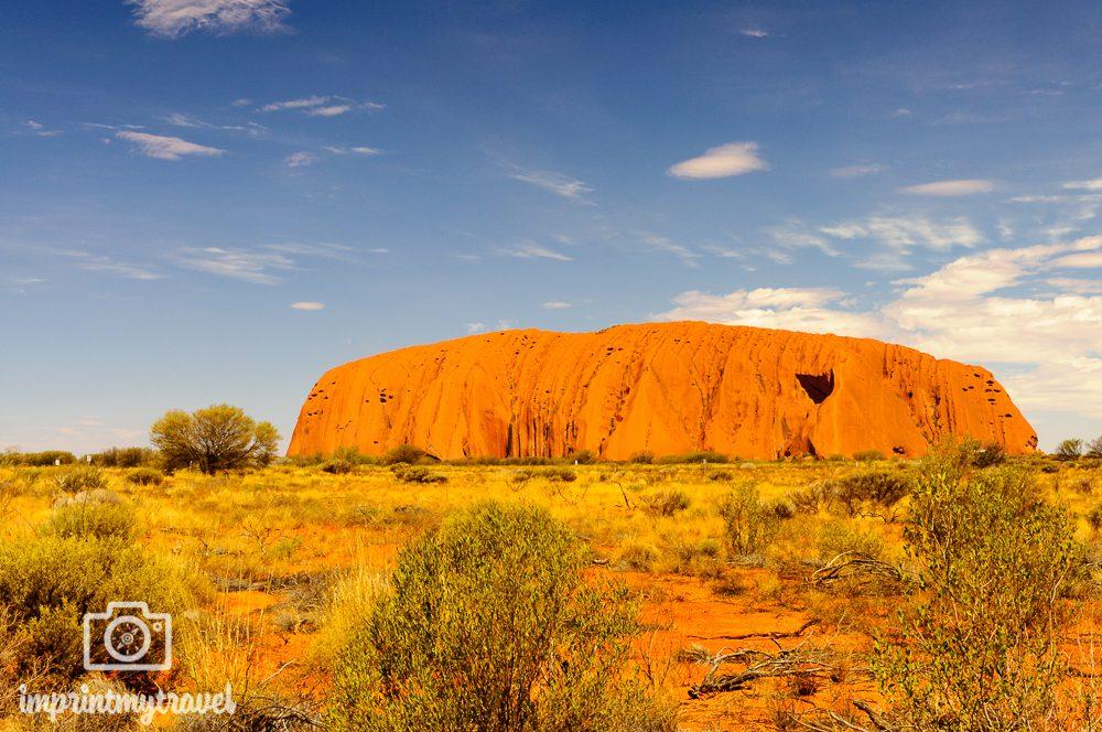 Outback Australien: Ayer's Rock (Uluru)