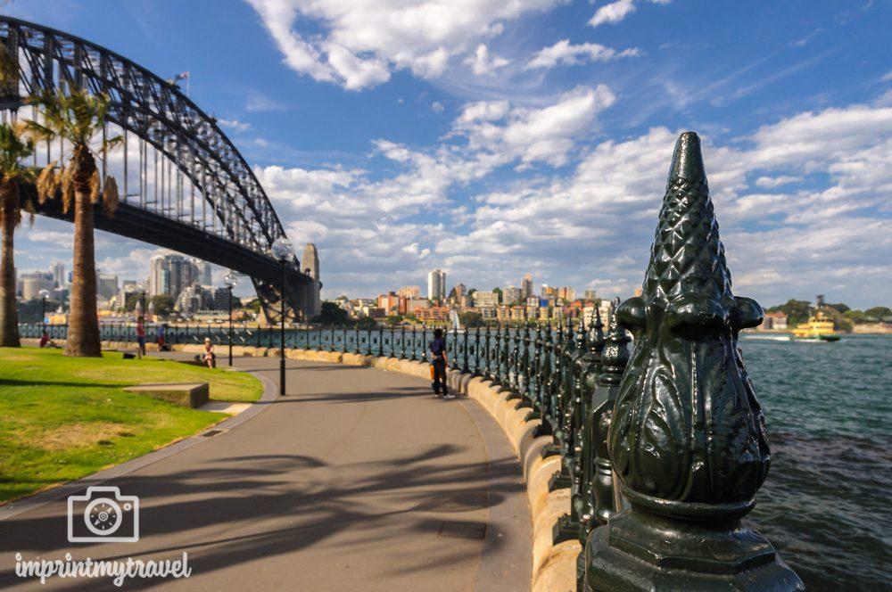 Sydney Sehenswürdigkeiten: Dawes Point Lookout