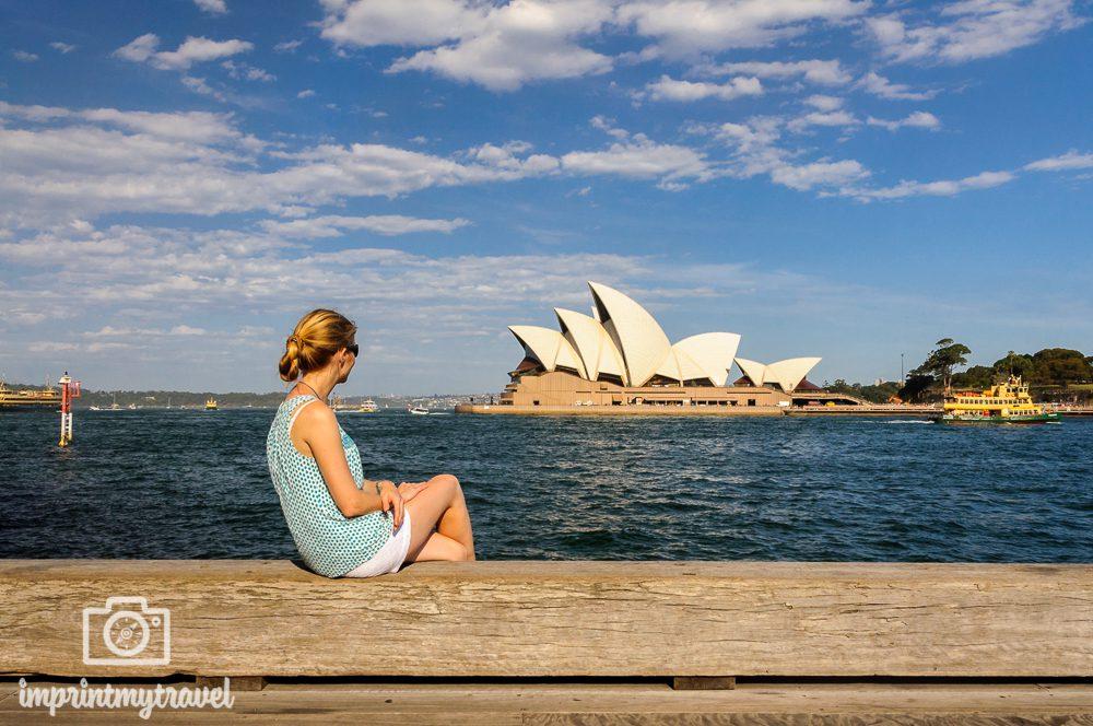 Highlights in Sydney: Blick auf die Oper