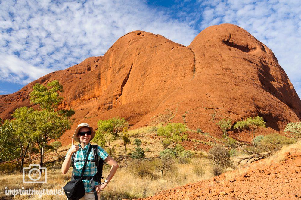 Outback Australien: Kata Tjuta Wanderung