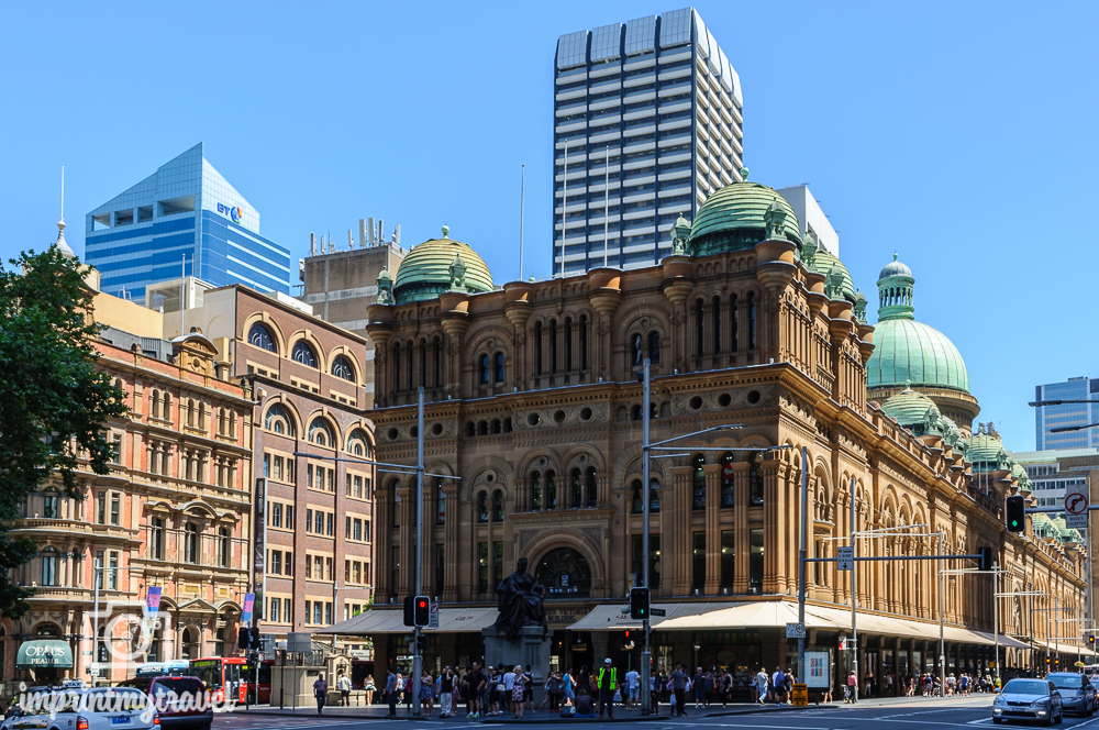 Sydney Sehenswürdigkeiten: Zentrum Queen Victoria Building