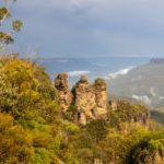 Wandern im Blue Mountains Nationalpark, Australien