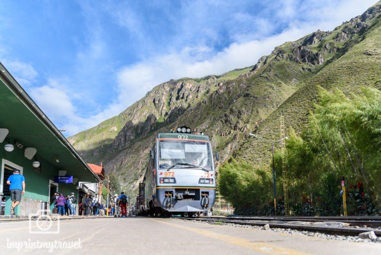 Machu Picchu Zug