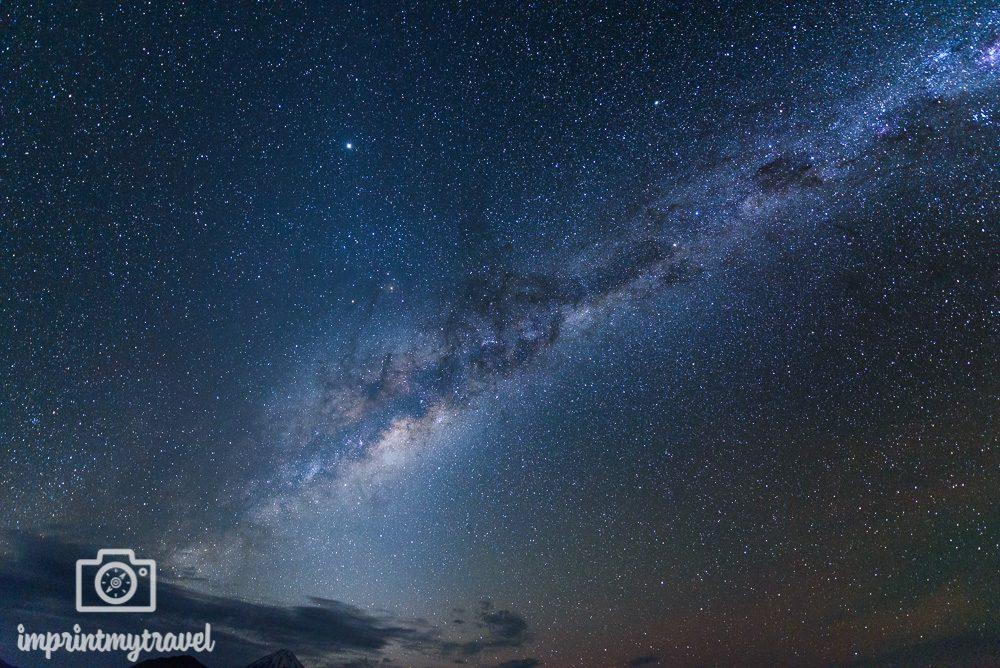 Sehenswürdigkeiten in Südamerika Milchstraße