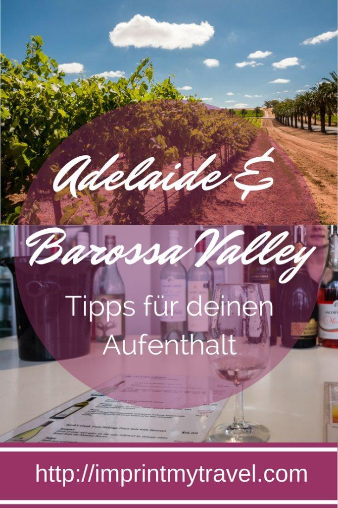 Australien Reise: Adelaide und Barossa Valley, Tipps für deinen Aufenthalt