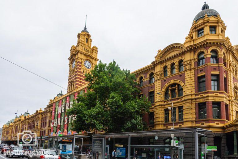 Melbourne Sehenswürdigkeiten Flinder's Street Station