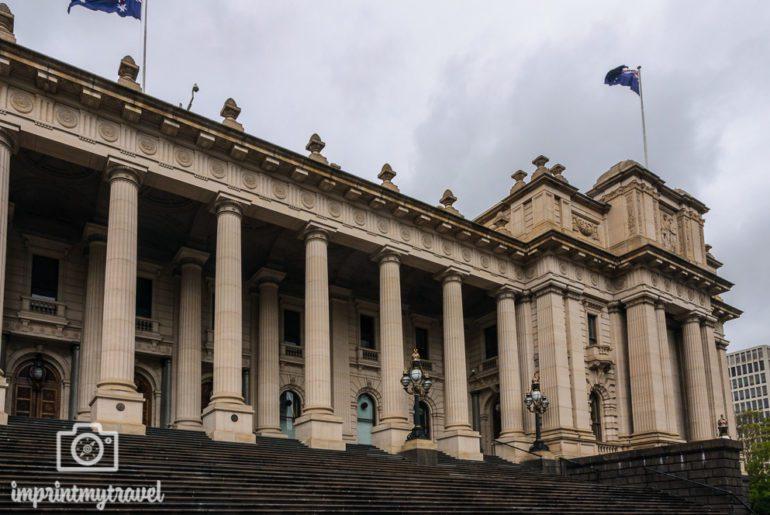 Melbourne Sehenswürdigkeiten Parlament
