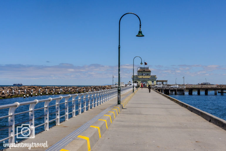 Melbourne Sehenswürdigkeiten Pier St. Kilda