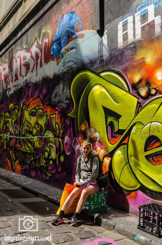 Melbourne Sehenswürdigkeiten Hosier Lane