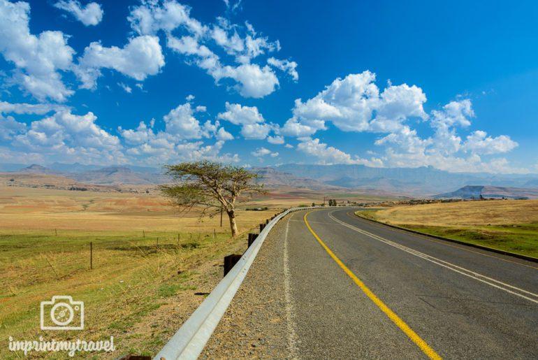 Südafrika Sehenswürdigkeiten Drakensberge Anfahrt