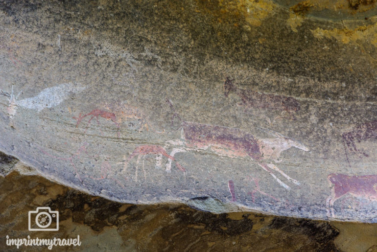 Südafrika Sehenswürdigkeiten Drakensberge San Malereien
