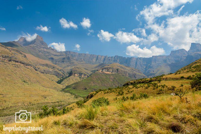 Südafrika Sehenswürdigkeiten Drakensberge Wanderung