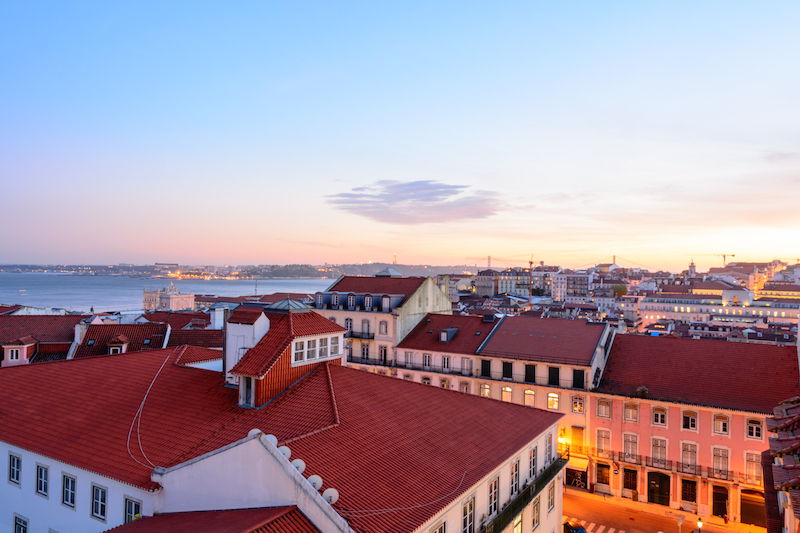 Städtereise Lissabon: Miradouro Chão do Loureiro