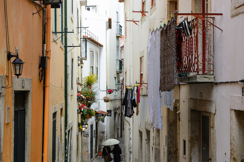 Städtereise Lissabon Alfama
