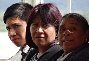 Mexikaner auf der Überfahrt nach Janitzio