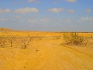 Die weite Wüste La Guajiras