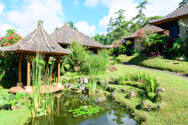 Bali-Rundreise: Strawberry Hills Hotel in Bedugul