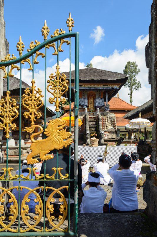 Bali-Rundreise: Zeremonie