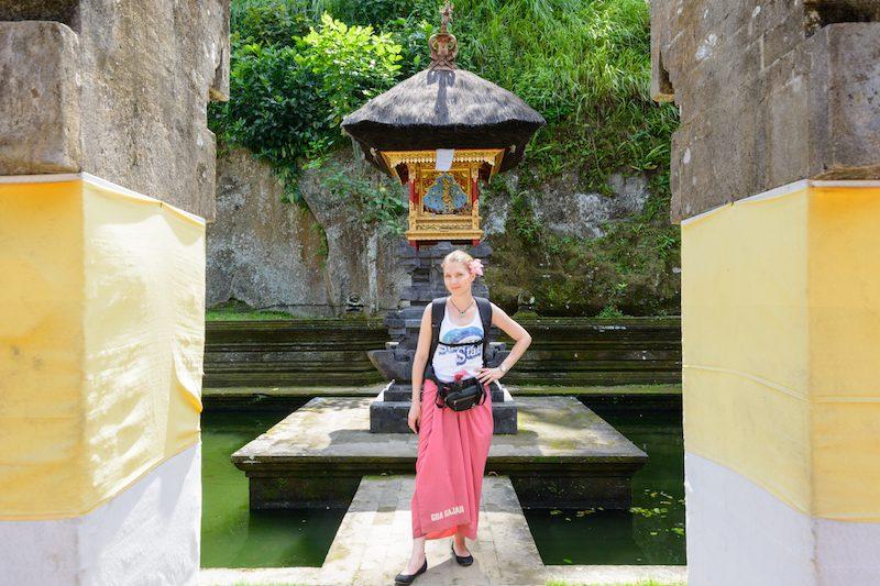 Bali-Rundreise: Sarong