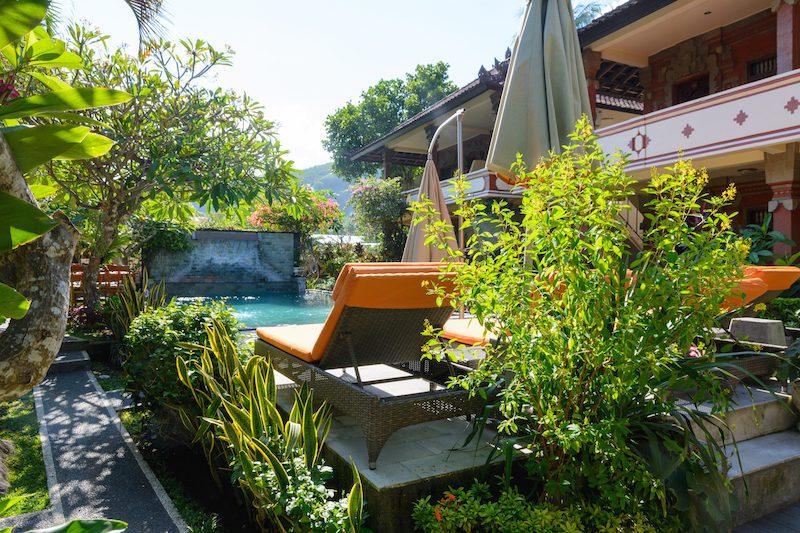 Bali-Rundreise: Rama Shinta Hotel in Candidasa
