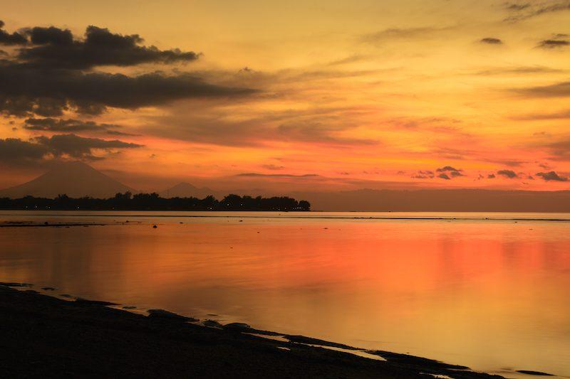 Bali-Rundreise: Ausblick von Gili Meno