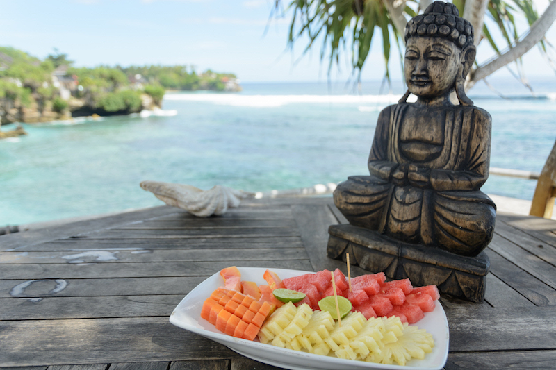 Bali-Rundreise: Obstplatte