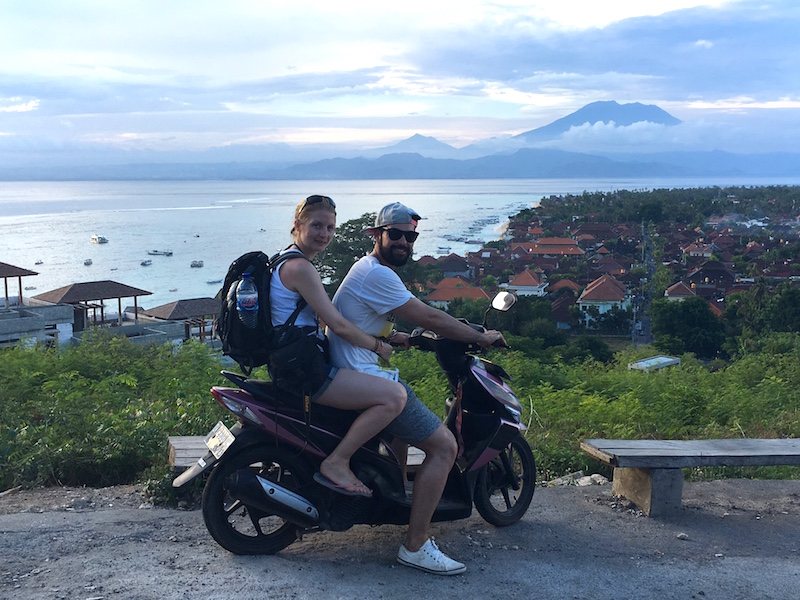 Bali-Rundreise: Roller auf Bali